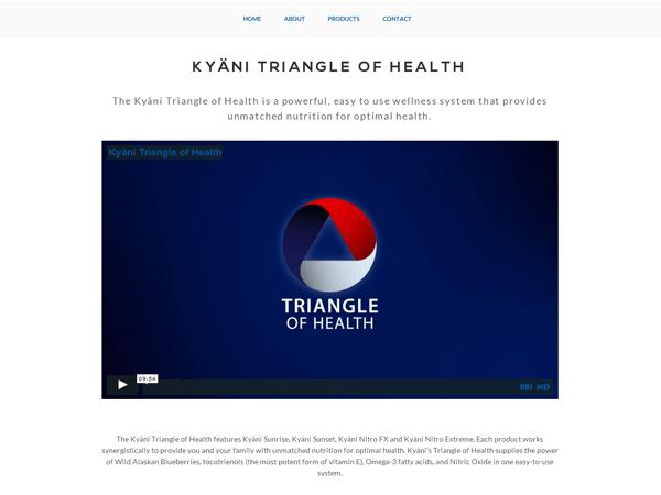 рекламное видео на странице сайта Kyani, созданный киевской веб-студией poollooq/LAB